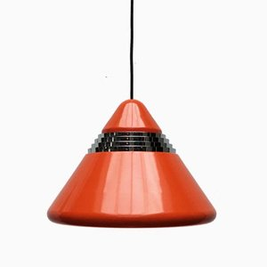 Vintage German Space Age Model 5535 Pendant Lamp by Kazuo Motozawa for Staff