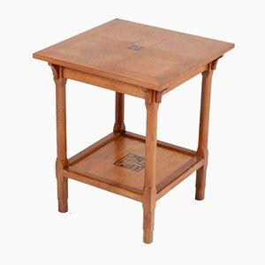 Table Basse Art Déco en Chêne, 1928