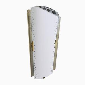 Mid-Century Spiegel aus perforiertem Metall von Ernest Igl für Hillebrand Lighting, 1950er