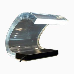Acrylic Table Lamp by Joe Colombo for Oluce, 1960s