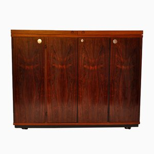 Danish Rosewood Bar Cabinet by Kurt Østervig for Dyrlund, 1970s