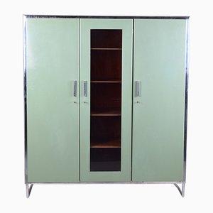 Vintage Bauhaus Green Cabinet from Mücke Melder, 1930s