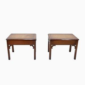 Tavolini in mogano, Regno Unito, 1964, set di 2