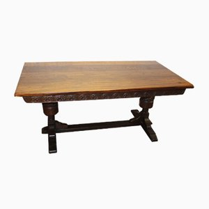 Antique Oak Dining Table, 1910