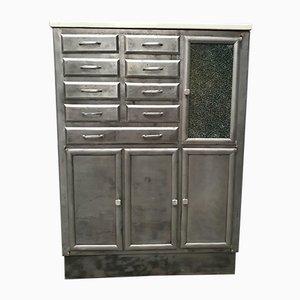 Schrank mit Deckplatte aus Marmor, 1930er