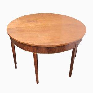 Tables d'Appoint Anciennes en Acajou, Set de 2