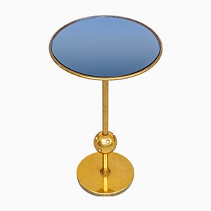 Italian T1 Brass Coffee Table by Osvaldo Borsani for Tecno, 1950s