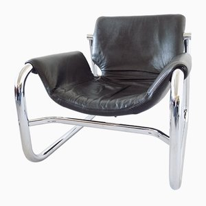 Alpha Sling Lounge Chair by Maurice Burke for Pozza, 1960s