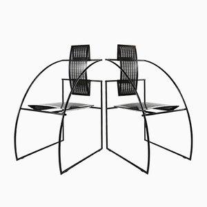 Chaise de Salle à Manger Modèle Quinta par Mario Botta pour Alias, Italie, années 80
