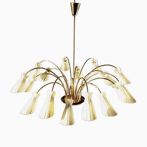 Italienische Spider Deckenlampe von Stilnovo, 1950er