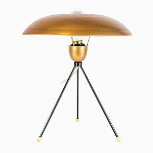 Mid-Century Tischlampe von Louis C. Kalff für Philips, 1950er