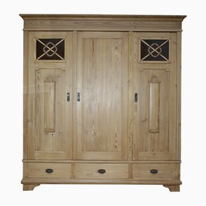 Antique Softwood Wardrobe