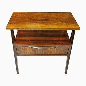 Nachttisch aus Palisander, 1960er