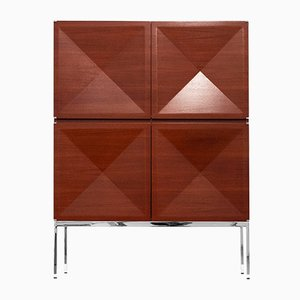 Rosewood Cabinet by Antoine Philippon & Jacqueline Lecoq, 1962