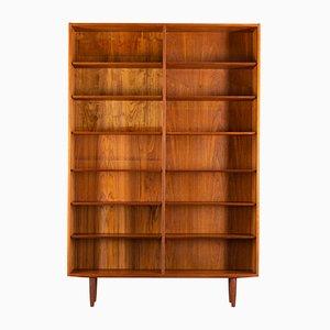 Bibliothèque en Teck par Carlo Jensen pour Hundevad & Co., Danemark, années 60