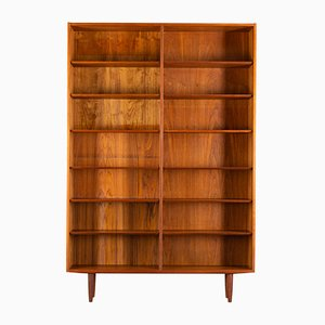 Danish Teak Bookcase by Carlo Jensen for Hundevad & Co., 1960s
