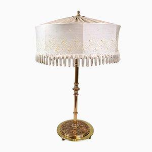Lampada da tavolo Art Deco in ottone e rame, Svezia, anni '30