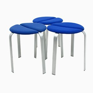 Danish Stools from Bent Krogh, 1990s, Set of 3