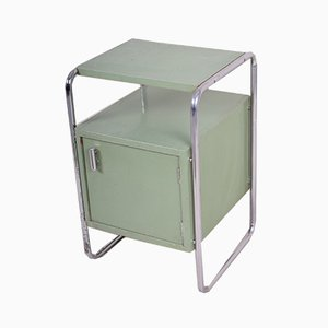 Table d'Appoint Vintage Bauhaus Verte de Mücke Melder, années 30