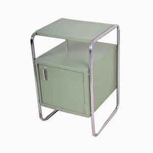 Tavolino Bauhaus vintage verde di Mücke Melder, anni '30