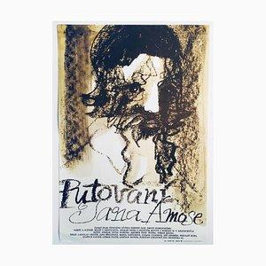 Affiche de Film The Wanderings of Jan Amos par Josef Flejšar, 1983