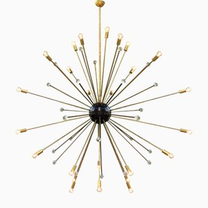 Starburst Ceiling Lamp from Stilnovo, 1950s