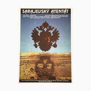 Affiche de Film The Day That Shook the World par Olga Poláčková-Vyleťalová, 1976