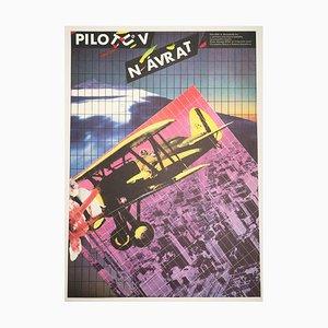 Affiche de Film The Aviator par Zdeněk Ziegler, 1987