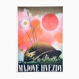 Affiche de Film May Stars par Karel Vaca, 1984