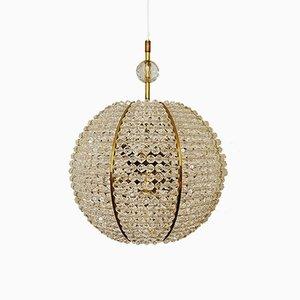 Lampada sferica in plexiglas di Emil Stejnar per Rupert Nikoll, anni '60