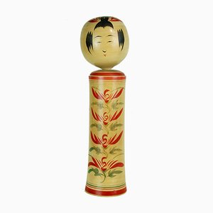 Kokeshi Sculpture by Takeo Takahashi, 1970s