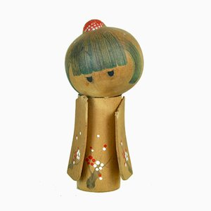 Kokeshi Sculpture by Minoru Koba, 1970s