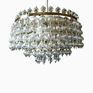 Mid-Century Modernist Ceiling Lamp, 1950s