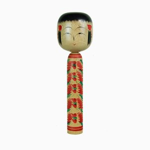Kokeshi Sculpture by Tetsuro Sato, 1970s