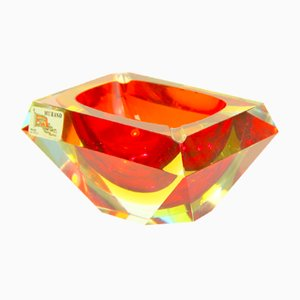 Murano Glass Ashtray by Alessandro Mandruzzato, 1960s