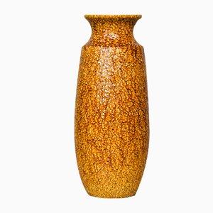 Vase Jaune de Scheurich, années 70