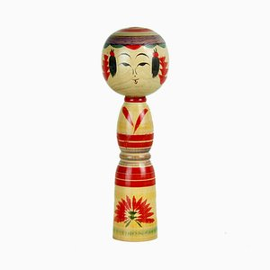 Kokeshi Sculpture by Hideo Sato, 1960s