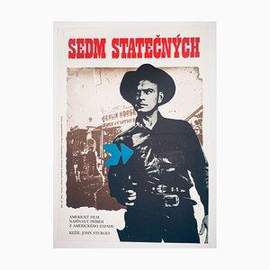 Affiche de Film The Magnificent Seven par Mirek Wagner, 1976