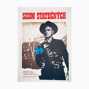 The Magnificent Seven Filmposter von Mirek Wagner, 1976