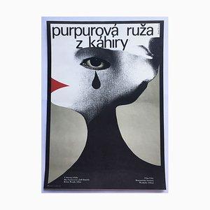 Poster del film Purple Rose of Cairo di Karel Teissig, 1987