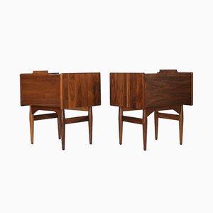 Tables de Chevet par John Caldwell pour Brown Saltman, années 60, Set de 2
