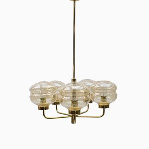 Brass Ceiling Lamp, 1960s