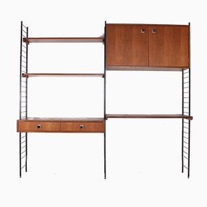 Modernist Modular Wall Shelf from Combineurop, 1950s