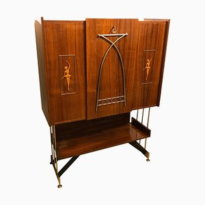 Rosewood Cupboard by Gio Ponti, 1950s