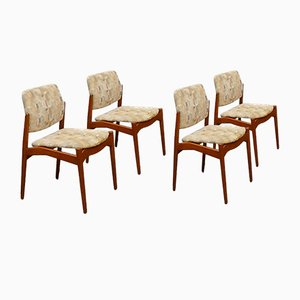 Esszimmerstühle von Erik Buch für Ørum Møbelfabrik, 1960er, 4er Set