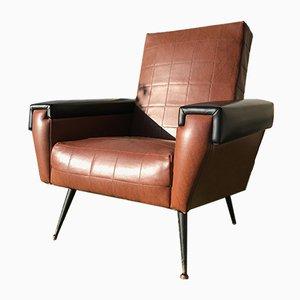 Sessel aus Kunstleder, 1960er
