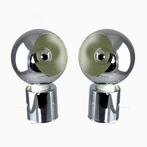 Tischlampen von Goffredo Reggiani, 1970er, 2er Set