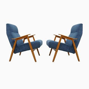 Armchairs from Interier Praha, 1960s, Set of 2