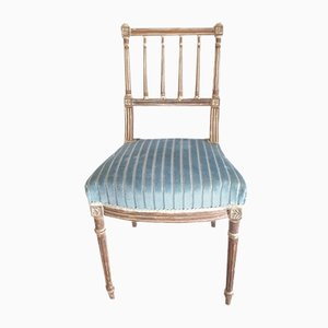 19th Century Napoleon III Side Chair