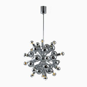Mid-Century Sputnik Ceiling Lamp from Cosack